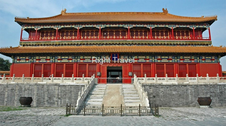 China Beijing Forbidden City Front