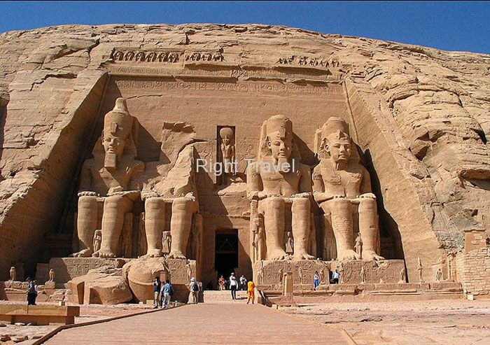 Egypt Abu Simbel Front entrance