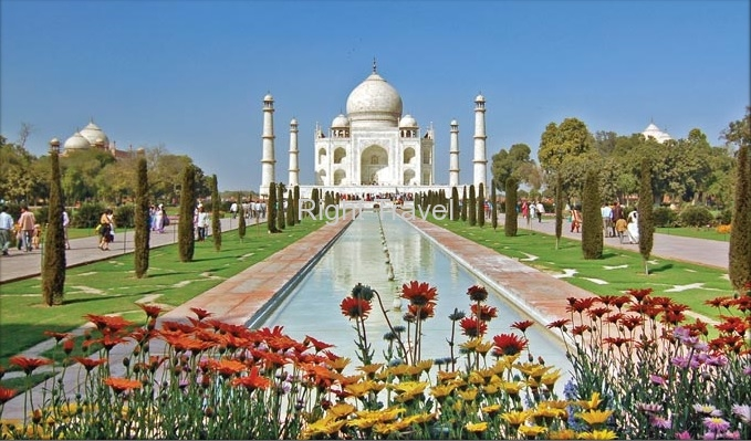 India Agra Taj Mahal New