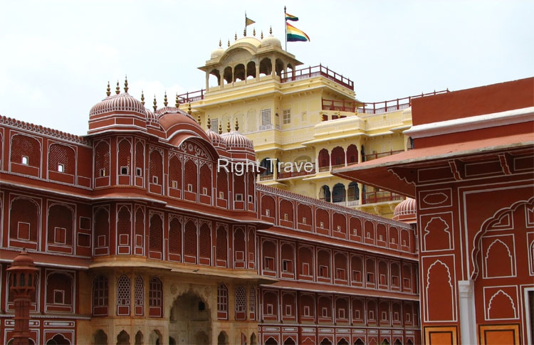 India Jaipur Chandra Mahal