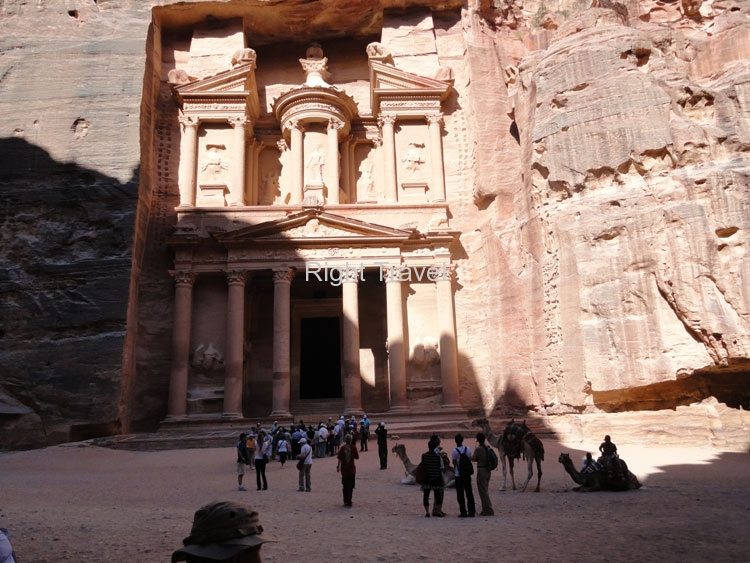 Jordan Petra Treasure From Siq