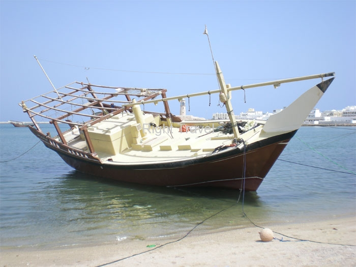 Oman Dhow factory in Sur