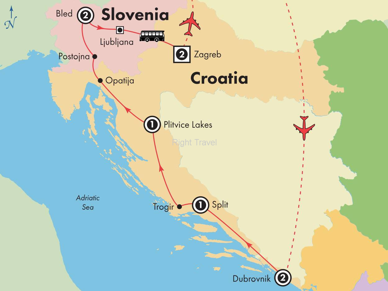 10 Day Croatia & Slovenia