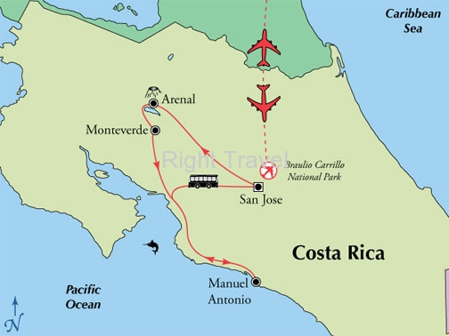 10 Day Classic Costa Rica with Manuel Antonio