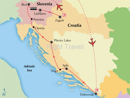 10 Day Essential Croatia & Slovenia