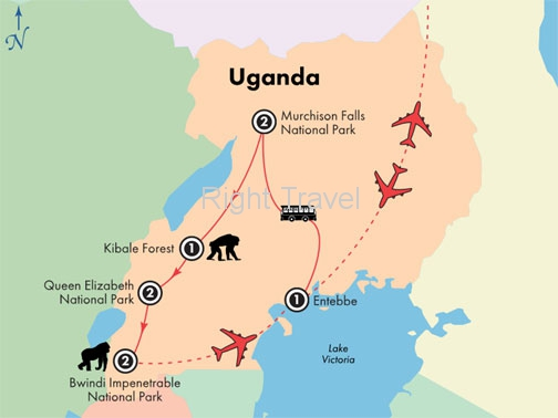 10 Day Uganda Wildlife Exploration