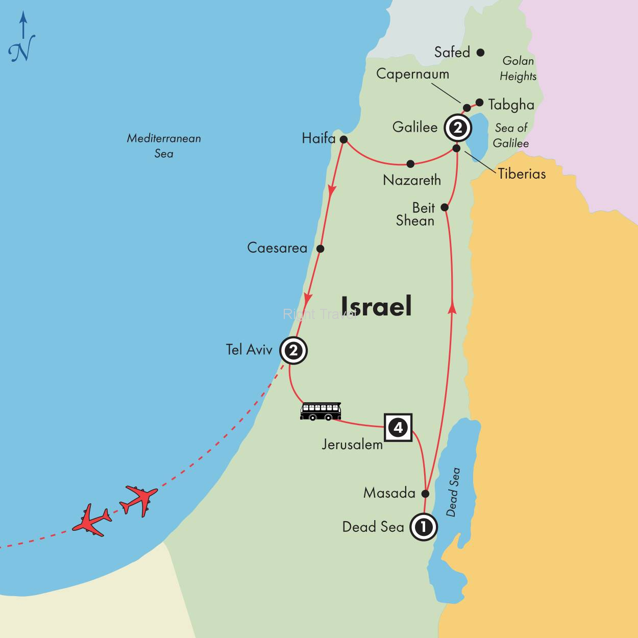 11 Day Enchanting Israel
