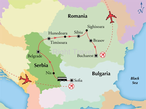 11 Day Bulgaria, Serbia & Romania
