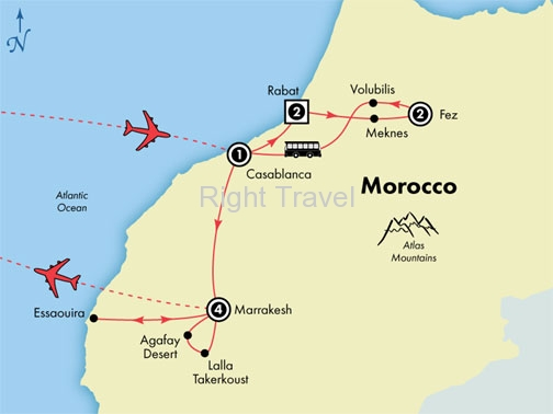 11 Day Deluxe Morocco
