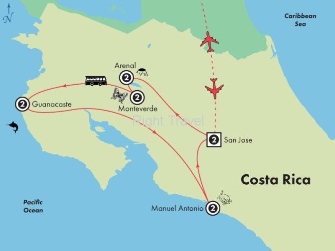 11 Day Kaleidoscope of Costa Rica with Manuel Antonio