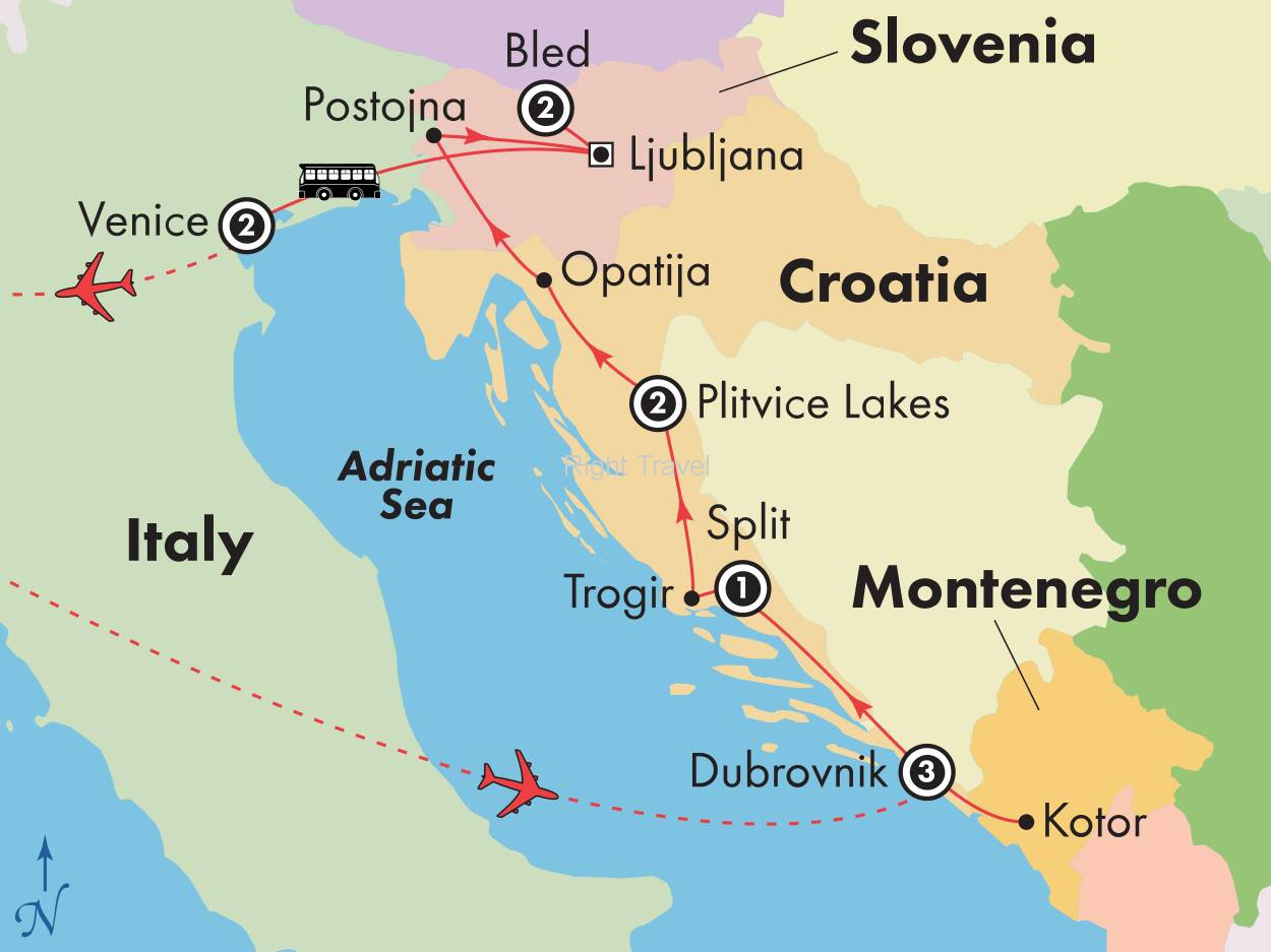 12 Day Croatia & Slovenia with Venice