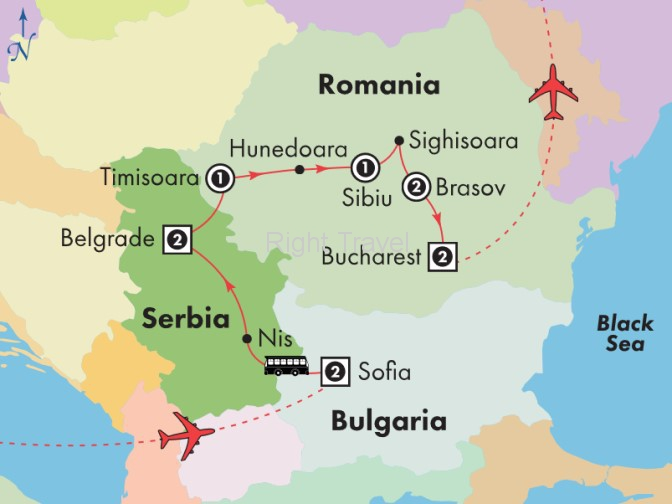 12 Day Bulgaria, Serbia & Romania