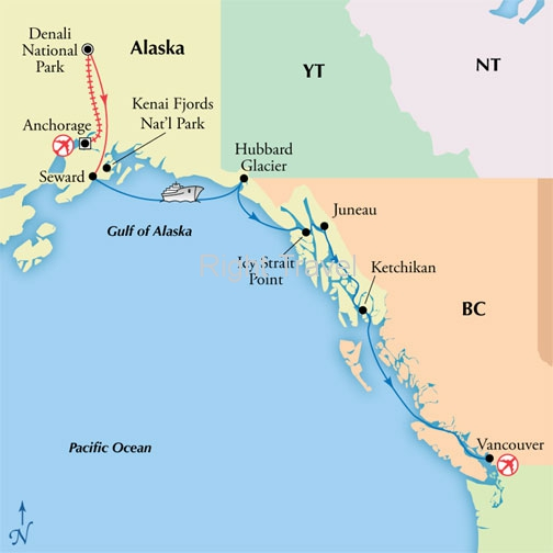 12 Day Classic Alaska with 7 Day Cruise