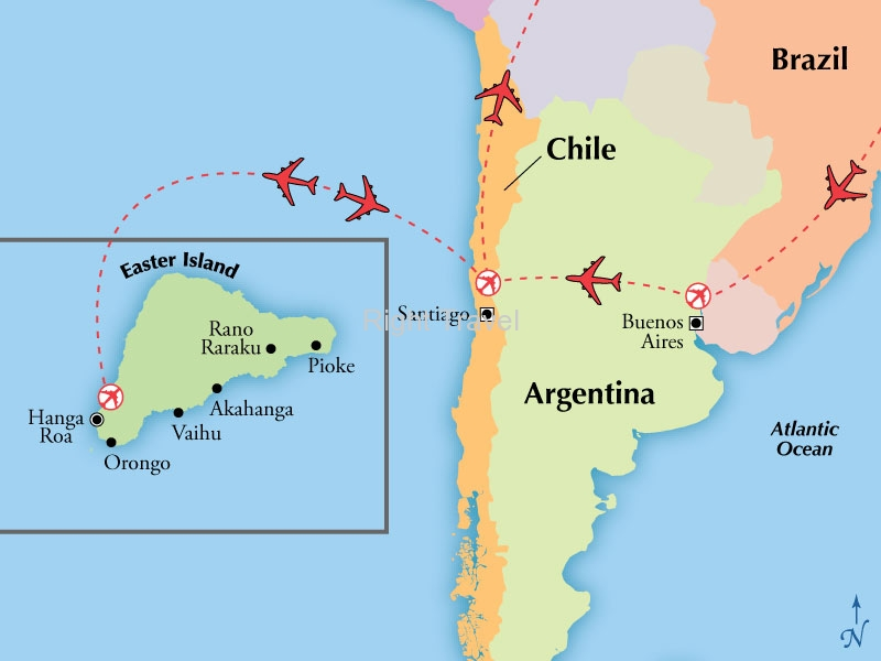 12 Day Classic Argentina & Chile with Easter Island