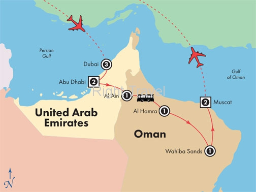 12 Day Explore Dubai & Oman