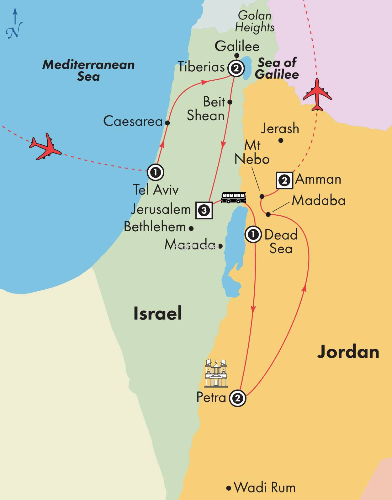13 Day Essential Israel & Jordan