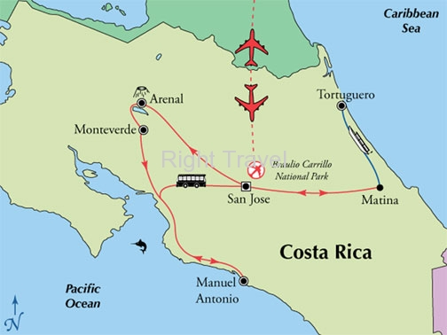 13 Day Classic Costa Rica with Tortuguero & Manuel Antonio