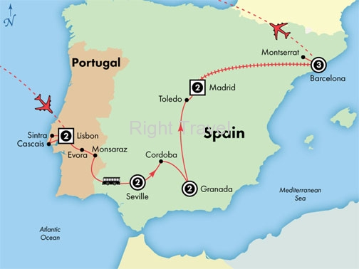 13 Day Deluxe Spain & Portugal