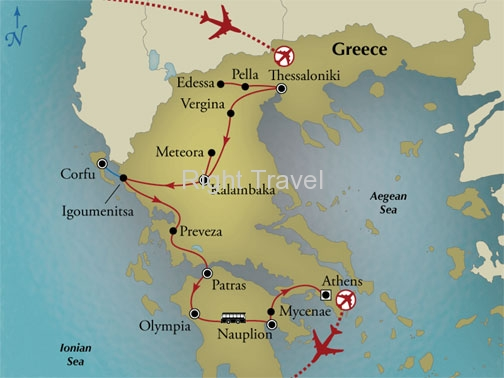 13 Day Greece, The Birthplace of Civilization