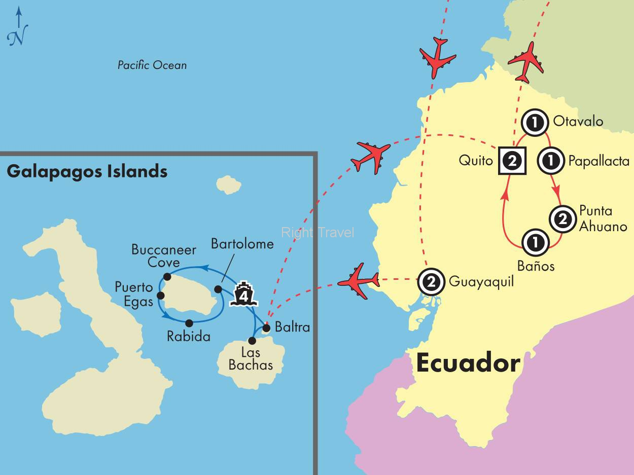 14 Day Ecuador with 4 Day Northern Galapagos Cruise
