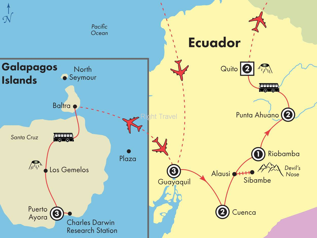 14 Day Galapagos Islands & Kaleidoscope of Ecuador