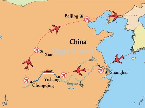 14 Day China with 4 Day Yangtze River Cruise