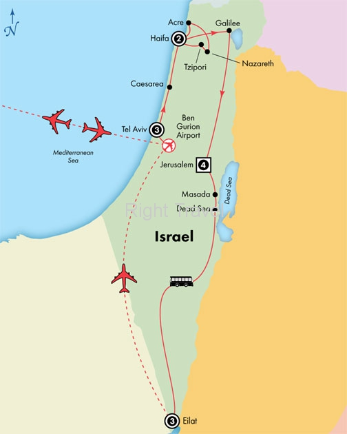 14 Day Deluxe Israel with Eilat
