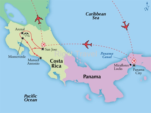 14 Day Panama & Costa Rica with Manuel Antonio