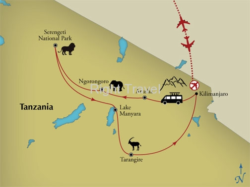 14 Day Serengeti & Beyond A Tanzania Safari with Zanzibar