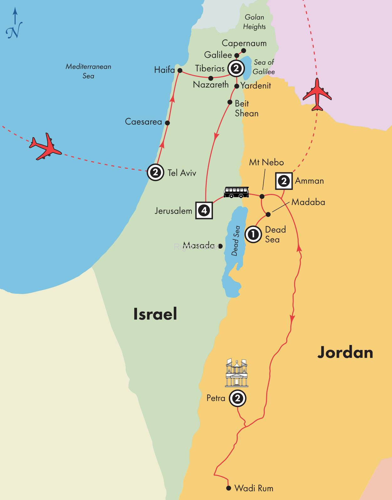 15 Day Affordable Israel & Jordan