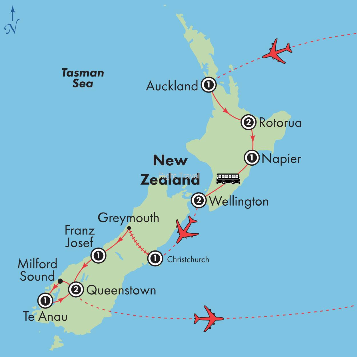 14 Day Wonders of New Zealand