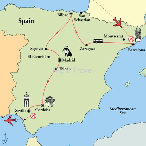 15 Day Kaleidoscope of Spain
