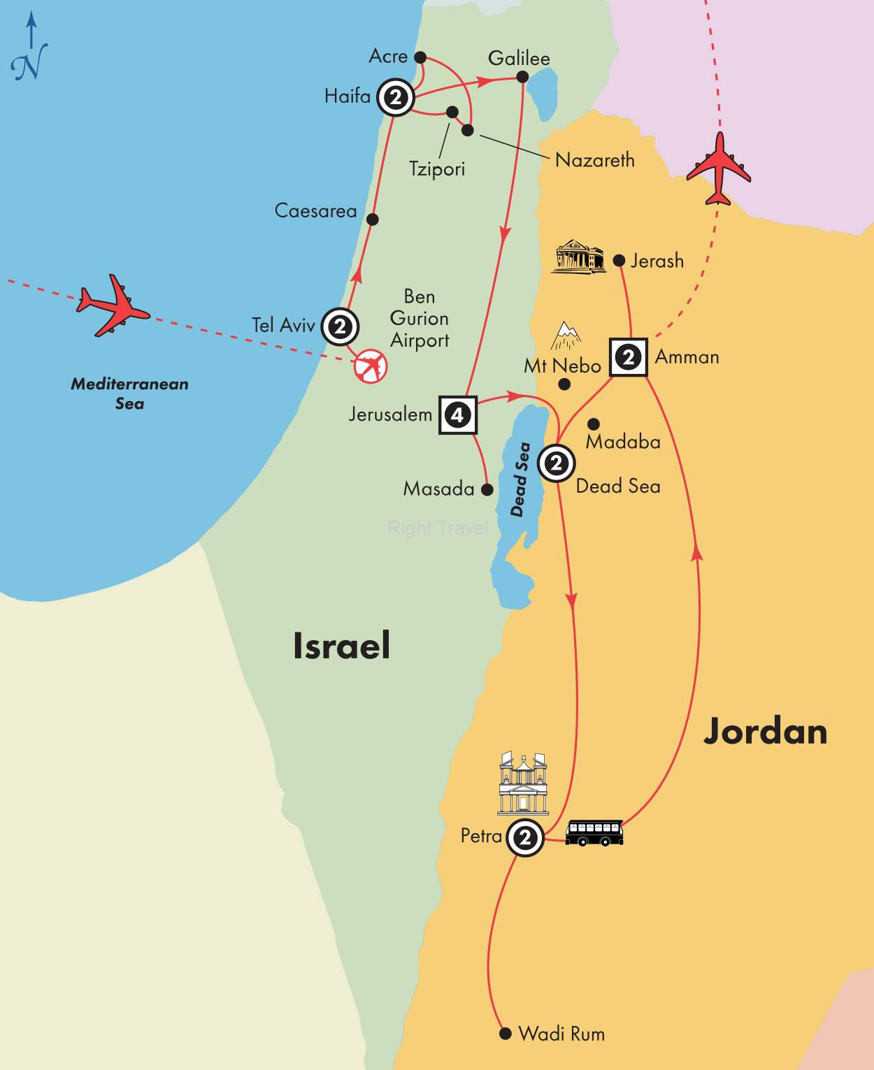16 Day Deluxe Israel with Jordan