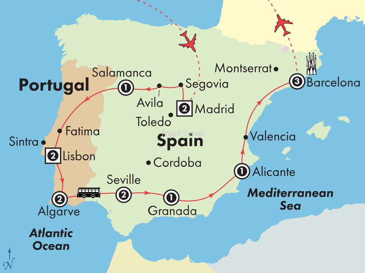 16 Day Kaleidoscope of Spain & Portugal