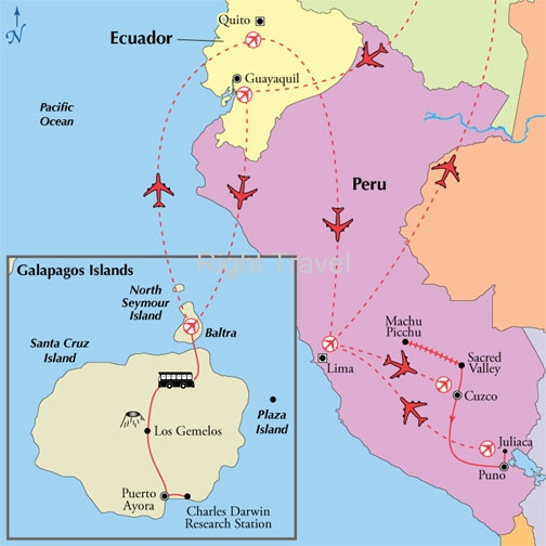 16 Day Affordable Peru with Galapagos Islands