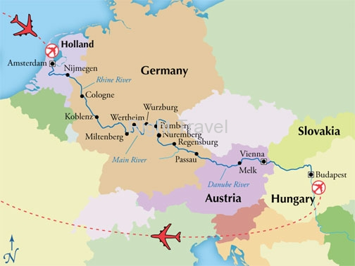 16 Day Classic European River Cruise