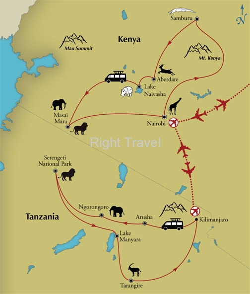 18 Day Kenya & Tanzania Safari Exploration