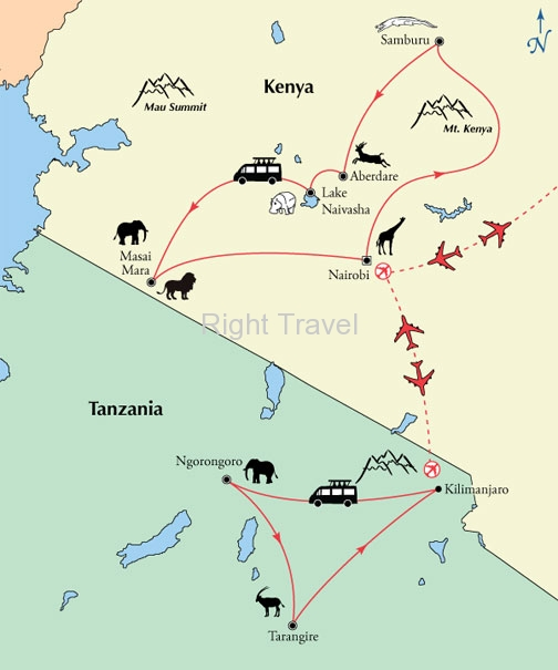 19 Day Kenya & Tanzania Safari Exploration