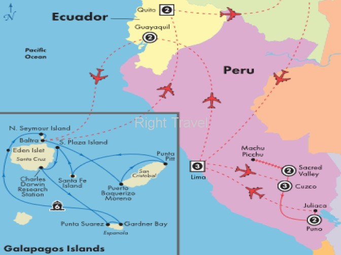 20 Day Peru with 6 Day Eastern Galapagos Cruise
