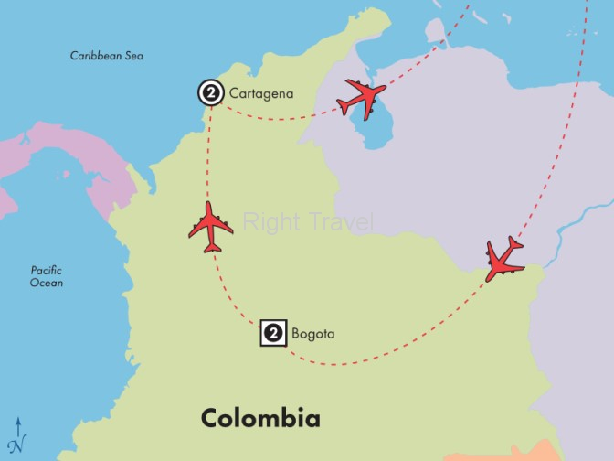 5 Day Highlights of Colombia