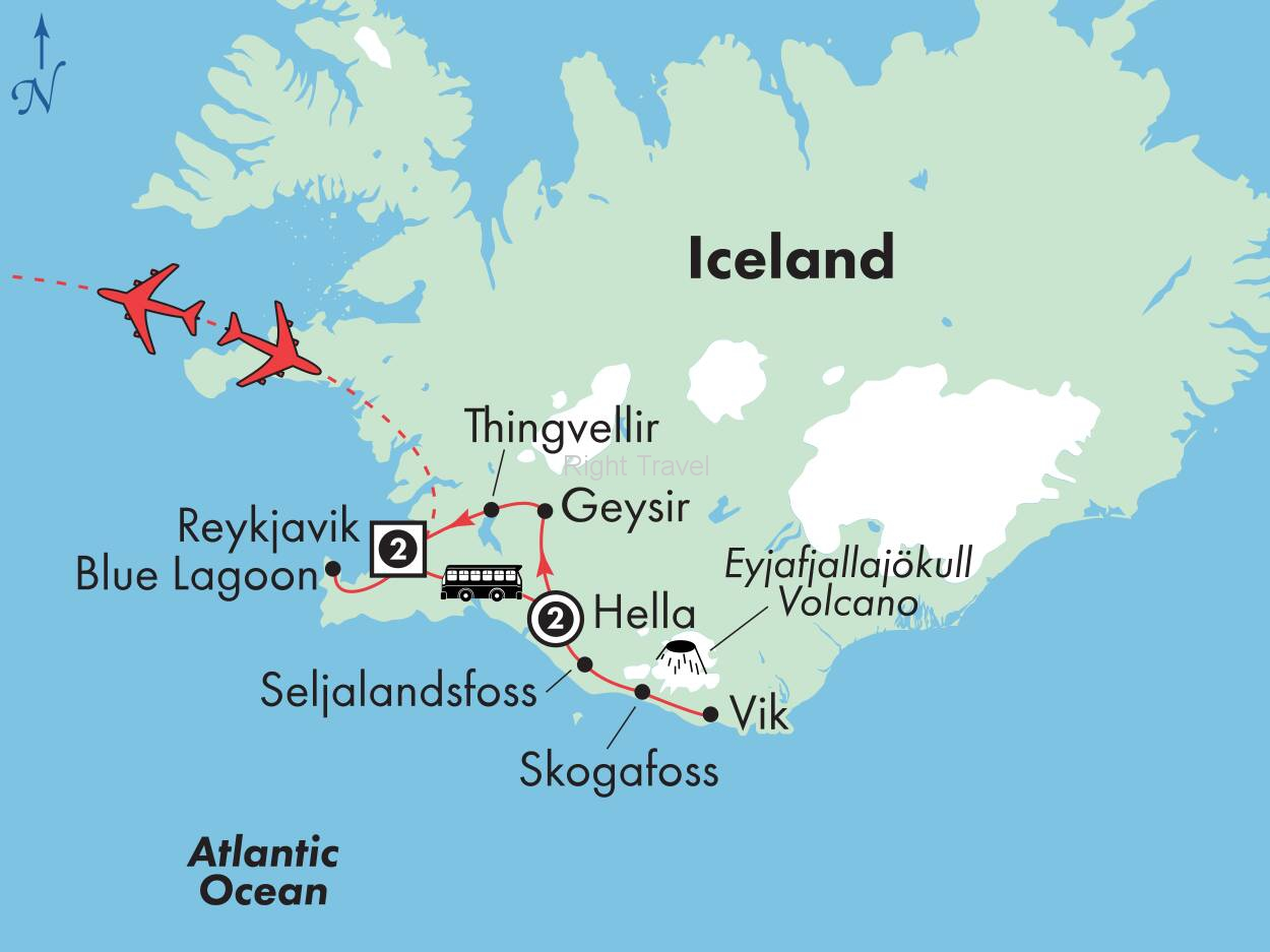 6 Day Affordable Iceland with Northern Lights Pursuit