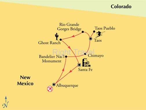 7 Day New Mexico Landscapes & Pueblo Life