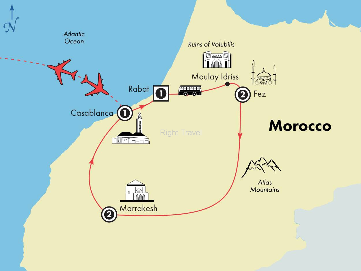 8 Day Classic Morocco