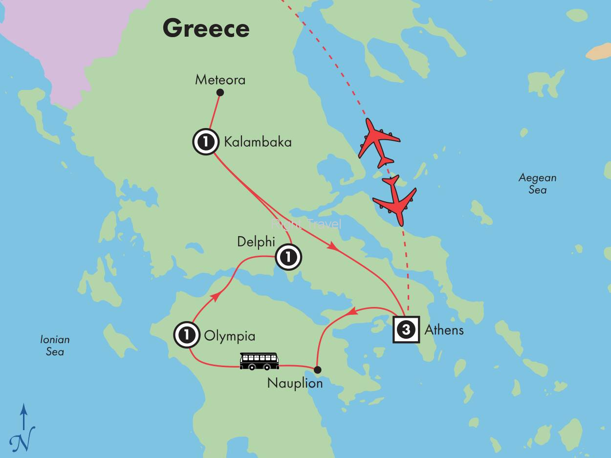 8 Day Classic Greece