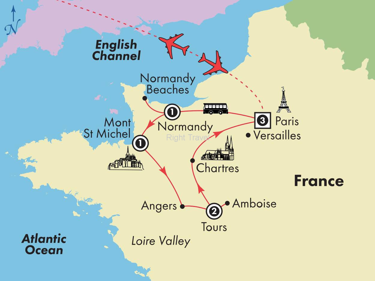 9 Day Affordable France