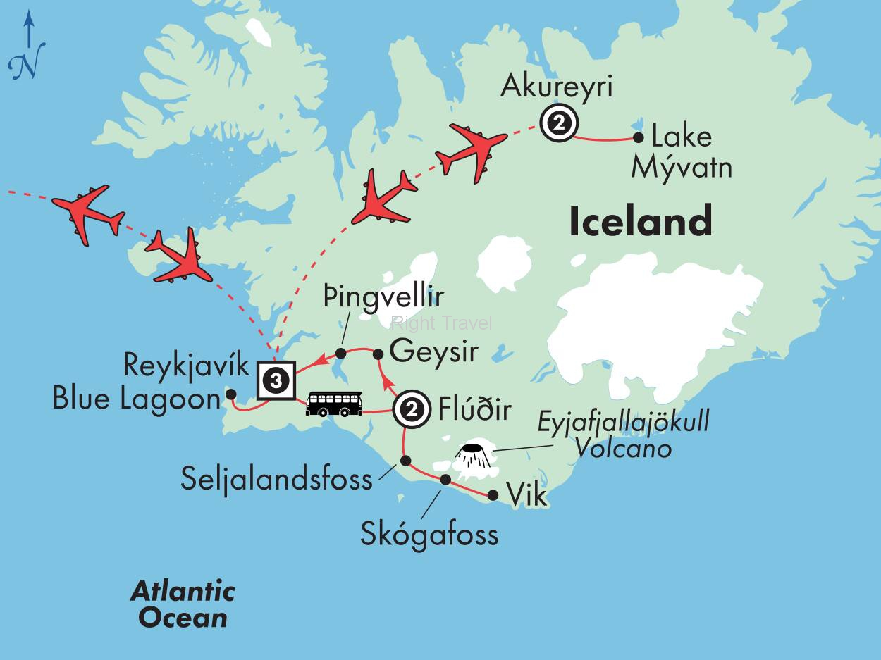 9 Day Affordable Iceland with Akureyri & Northern Lights Pursuit