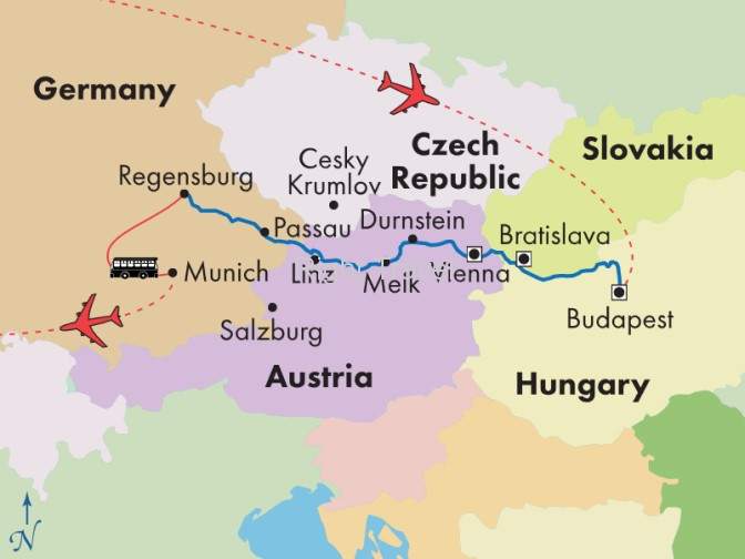 9 Day Danube River Cruise