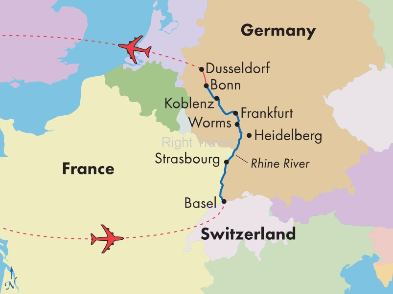 9 Day Rhine & Main River Cruise