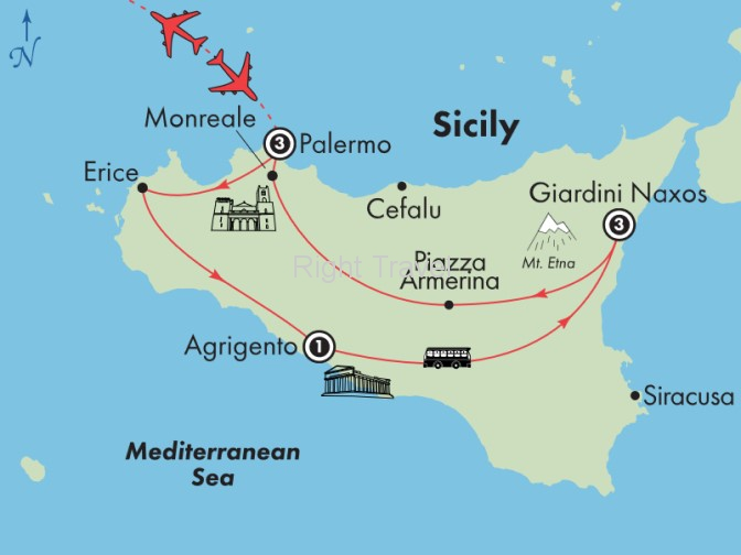 9 Day Classic Sicily